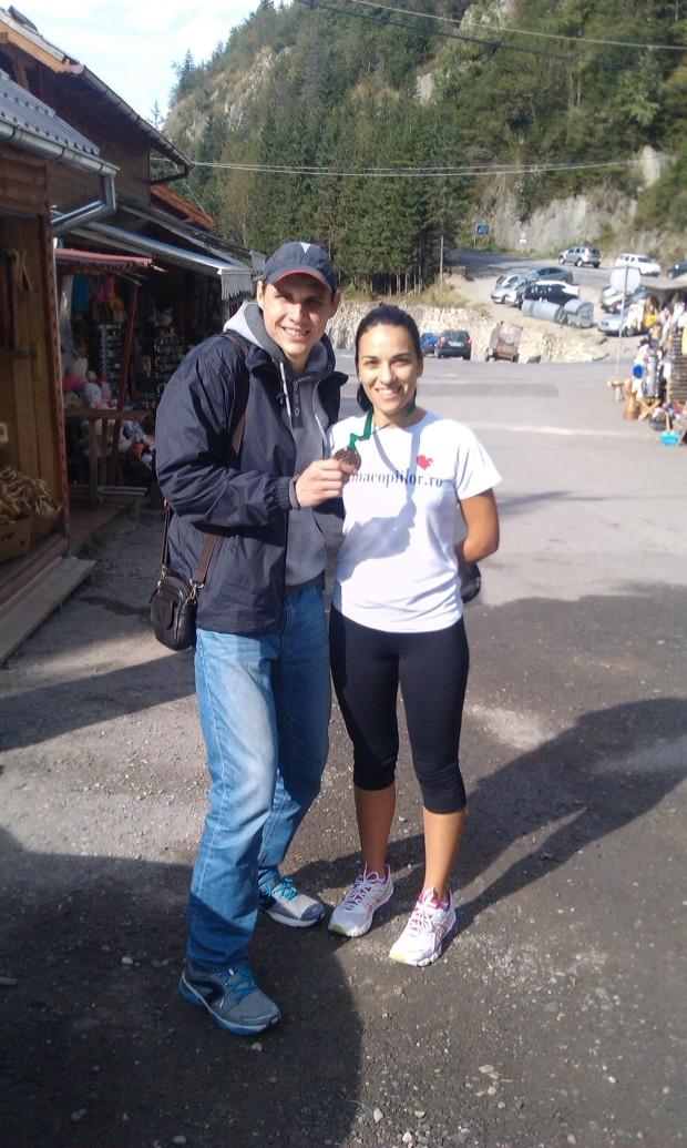 Cu medalia de la Transmaraton